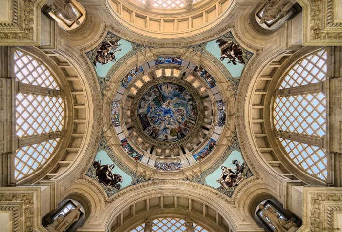 Национальный музей искусства Каталонии: купол изнутри