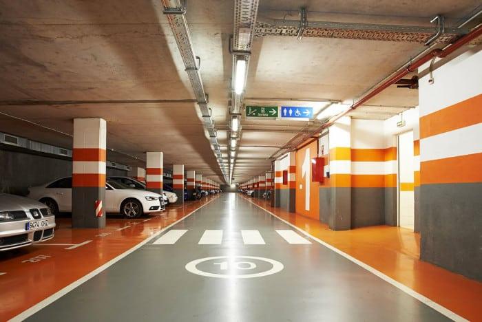 Паркинг в Барселоне