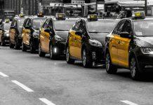 Почему черно желтое такси в Барселоне