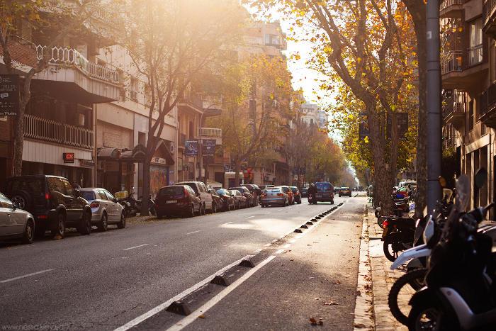 Погода в Барселоне в октябре