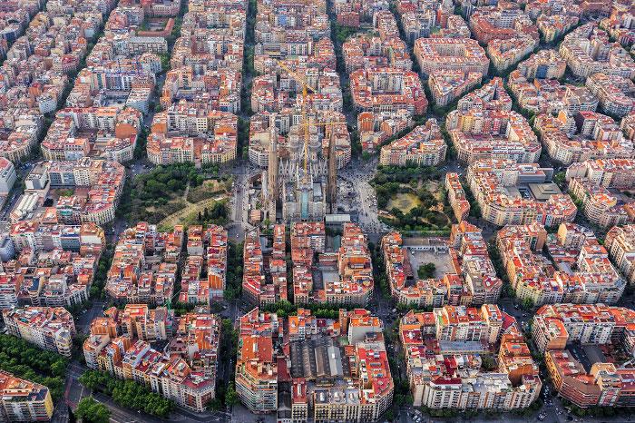 Barselona Vid Sverhu Putevoditel Barselona Tm