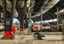 Французский вокзал в Барселоне
