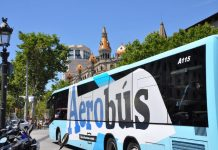 Aerobus Barcelona: все о шаттл-бусе из аэропорта в центр города