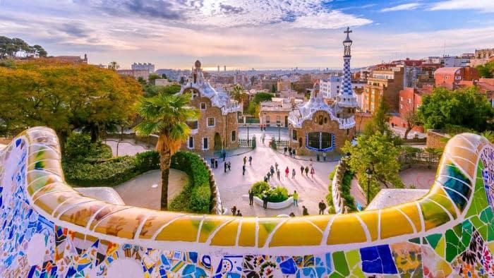 Искусство создания парков в Барселоне