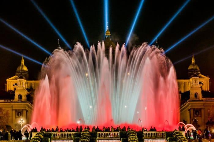 Шоу Магических фонтанов