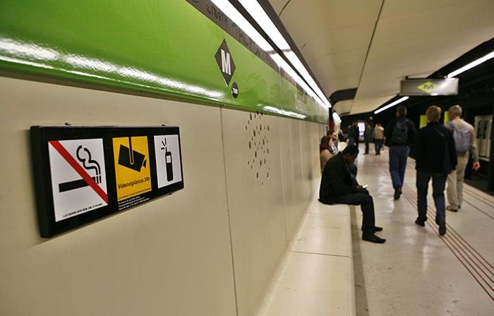 Барселона метро Drassanes